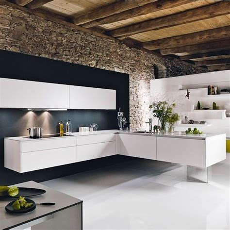 Wall L by L Shaped Kitchen Design Ideas Decozilla