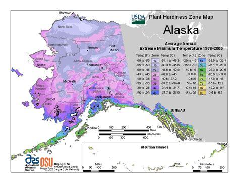 us time zone map with alaska usda plant hardiness zone maps