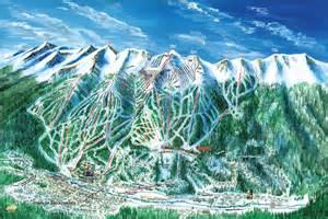 breckenridge map colorado breckenridge ski trail map artist kevin mastin
