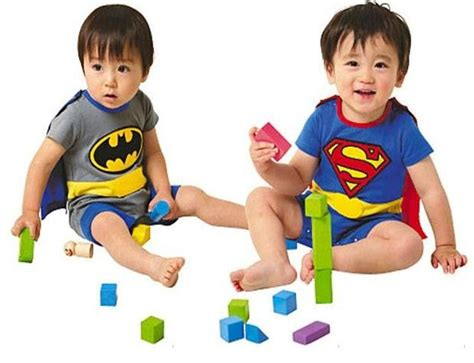 Romper Batman 1 Set free shipping 1 set sleeve superman romper batman romper baby boy romper with dress smock