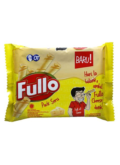 Keju Bubuk Pack 1 fullo wafer stick pack seru cheese pck 36g klikindomaret