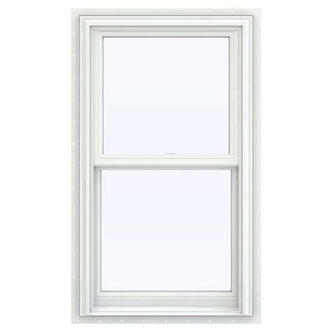 tafco windows 23 5 in x 35 5 in single hung vinyl window