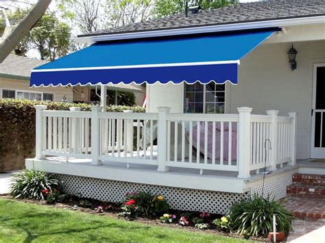 retractable porch awning manual retractable awnings home design insight