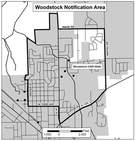 Illinois Dept Of Records Well Testing For Woodstock Area