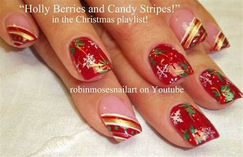 easy nail art for xmas 10 nail art tutorials diy easy christmas nail art