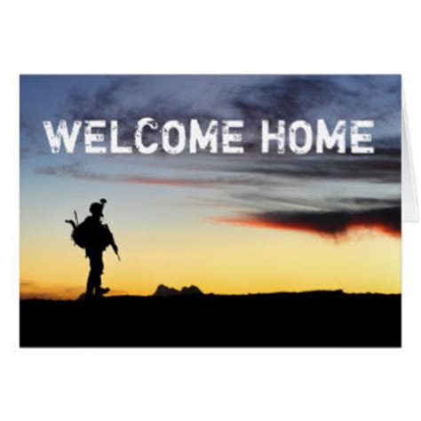 Welcome Home Soldier Cards Photo Card Templates Invitations More Welcome Home Card Template