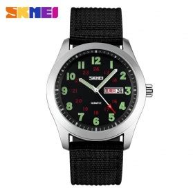 Skmei Casual Colorful Army Water Resistant 30m 2 yazole jam tangan analog 358 black brown