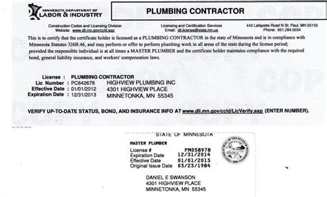 Plumbing License Lookup by Plumbing Contractor License Hawaii Plumbing Contractor