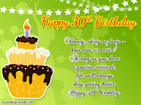 30th Happy Birthday Wishes 30th Birthday Wishes Wordings And Messages
