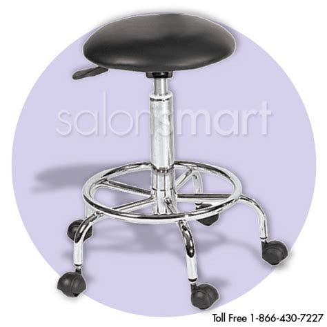 Flattened Stools by Hair Salon Stools
