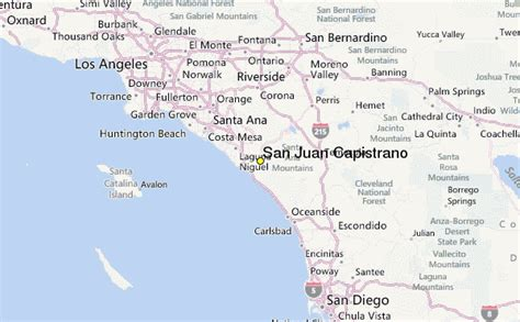 california map san juan capistrano san juan capistrano weather station record historical