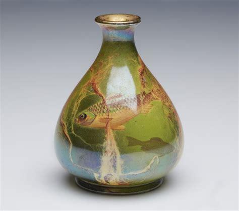 Wilkinson Vases by Antique Wilkinson Oriflamme Fish Vase Butler C 1900