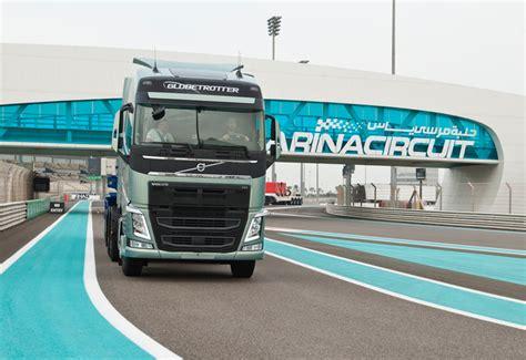 new volvo truck range test drive new volvo trucks range for mena region