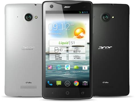Flipcover Xperia Zl test acer liquid s1 smartphone phablet update