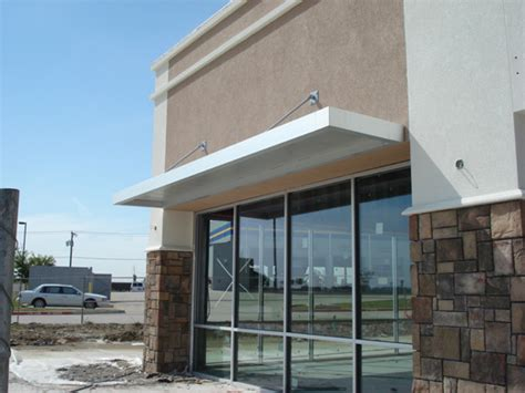 Architectural Awning by Awnings Dallas Fort Worth Commercial Metal