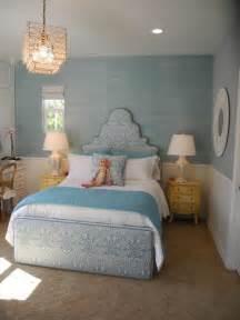 pale blue green grasscloth wallpaper chic