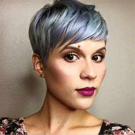 pixie haircut with side swept bangs 360 degrees 70 pixie cut ideas for 2017 short shaggy spiky edgy