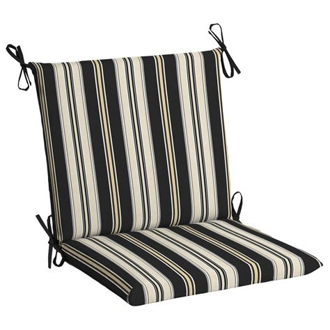 black and white bench cushion black and white striped outdoor furniture cushions