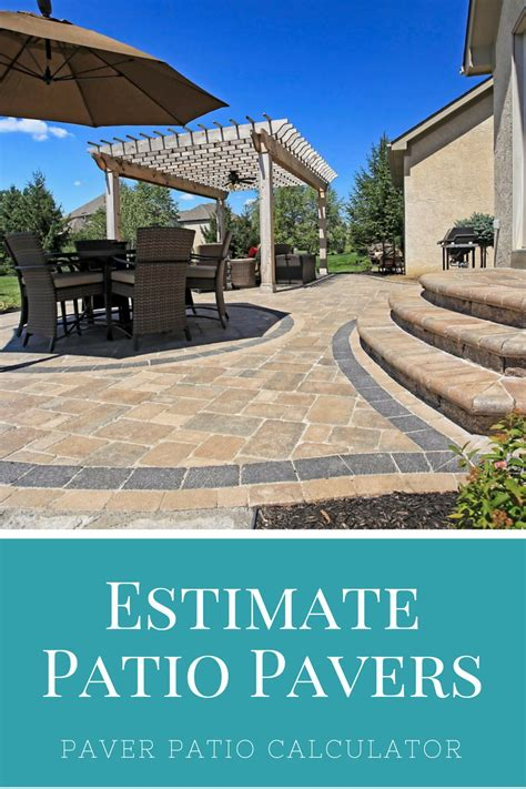 patio paver estimator paver calculator and price estimator outdoor home ideas