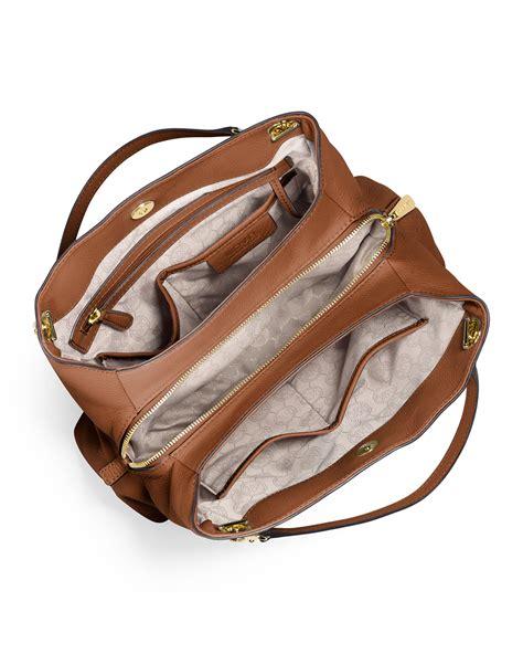 Shoulder Bag Serut 2 lyst michael michael kors jet set chain large shoulder