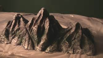 How To Make A 3d Mountain Out Of Paper - mt everest rocky mountains wire model