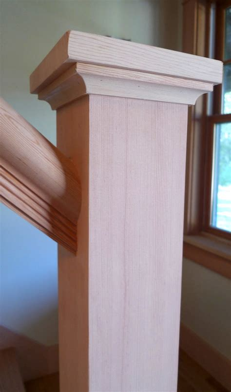 Post L by Building A Housed Newel Thisiscarpentry