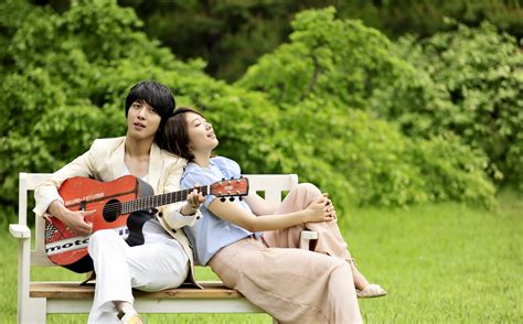 for me jung yong hwa park shin hye wallpaper you ve fallen