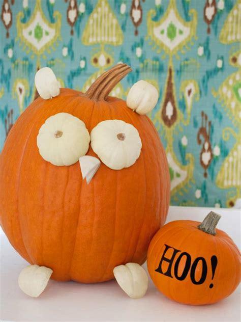 cute owl pumpkin hgtv