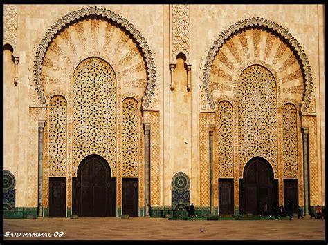 moroccan architecture morocco casablanca mosqu 233 e hassan ii moroccan interior