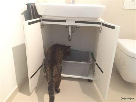 katzen wc schrank fantastisch katzenklo im schrank ideen die besten