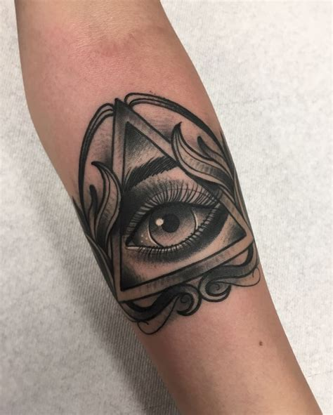 all seeing eye tattoo 25 great ideas about all seeing eye on