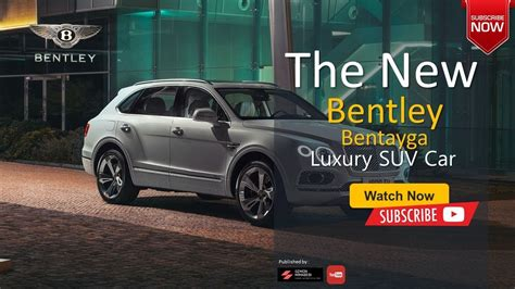 2020 Bentley Suv by The 2020 Bentley Bentayga Suv Luxury High End Sport All