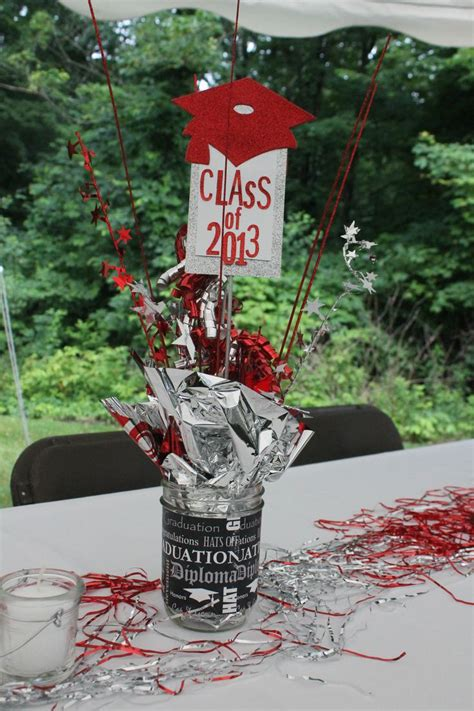 best 25 graduation table decorations ideas on
