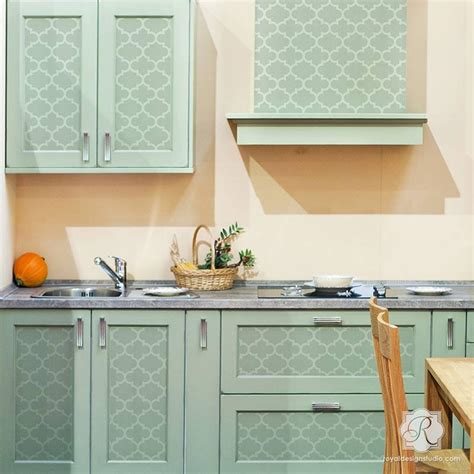 kitchen stencils designs exotic trellis furniture stencils for diy painting royal