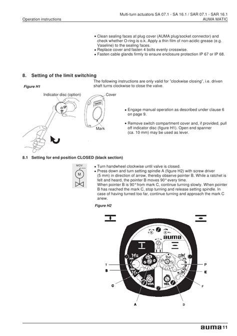 auma actuator wiring schematic 30 wiring diagram images