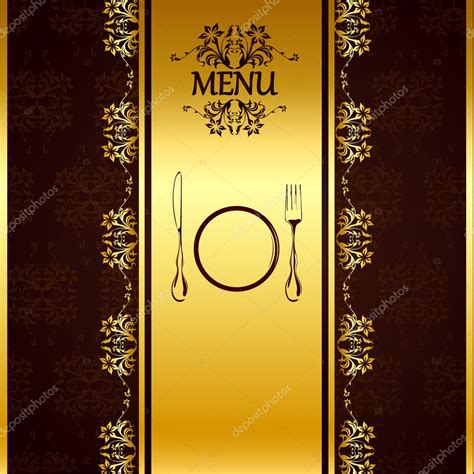 template for menu card design hotel menu card templates