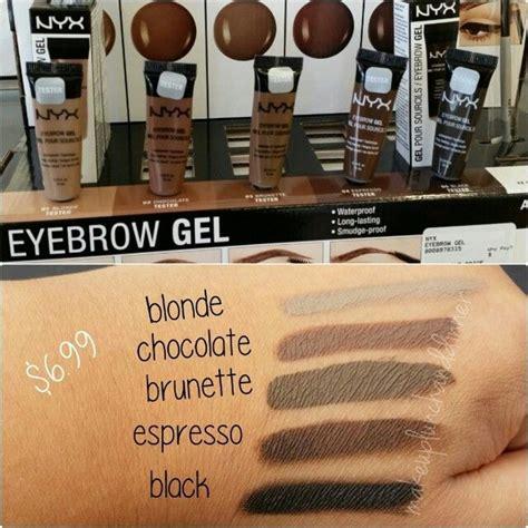 Nyx Gel Eyebrow new nyx cosmetics eyebrow gel waterproof smudge proof