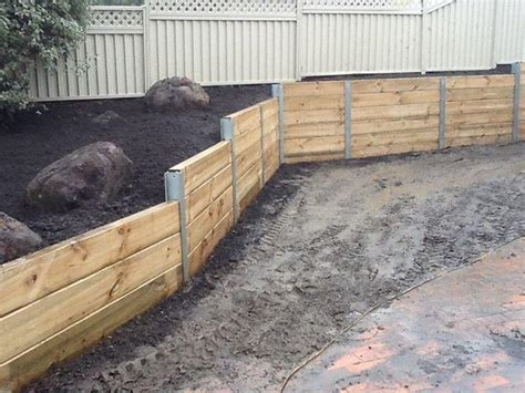 Sleeper Retaining Wall Cost by Hipages Contributor S Inspiration Board