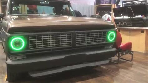 color changing led headlights color changing f100 led headlights sema tmi products