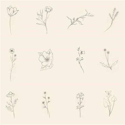 tatuaje flores moda moderna