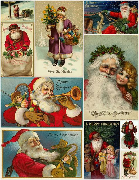 printable christmas vintage magic moonlight free images christmas collages for you
