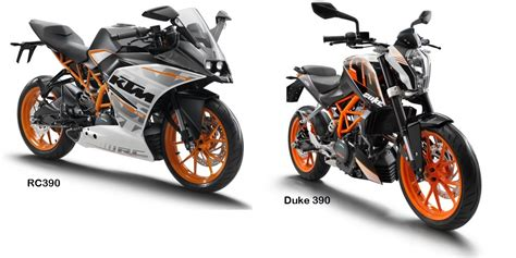 Duke Ktm 390 6 Spec Differences Between Duke 390 Rc390