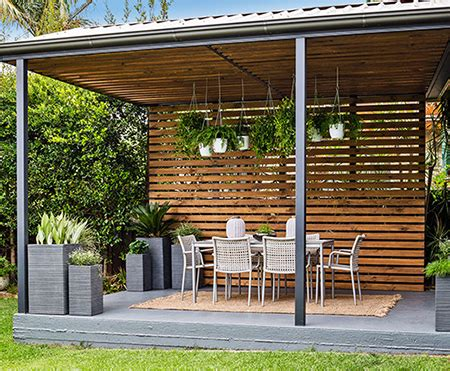 Rv Awning Shade Screen Home Dzine Garden Turn A Carport Into A Stylish Patio