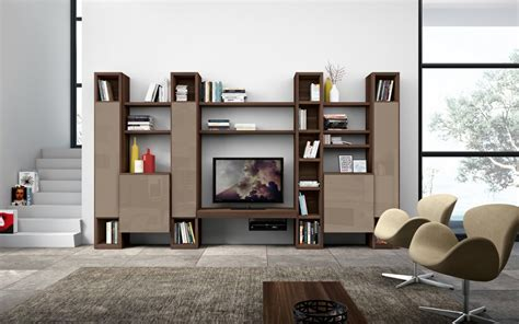 Low Storage Units Living Room Modern Living Room Wall Units With Storage Inspiration