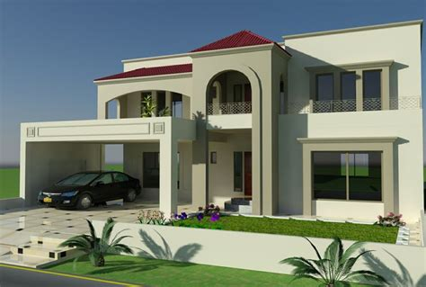 home design layout in pakistan 1 kanal plot house design europen style in bahria town