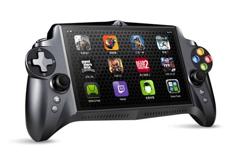 android gaming console jxd s192 a portable gaming console powered by nvidia