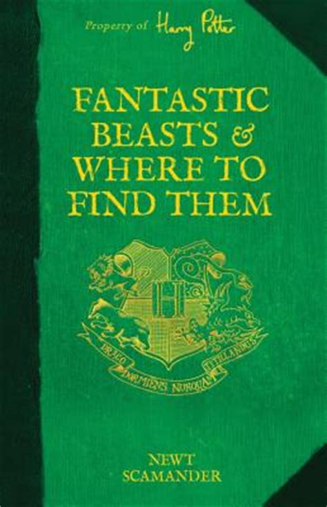 libro fantastic beasts and where fantastic beasts and where to find them hardcover cavalier house books
