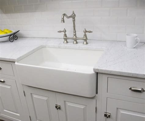 fireclay butler large kitchen sink contemporary