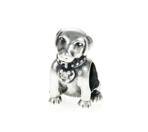 pandora puppy charm pandora labrador charm 791379cz greed jewellery