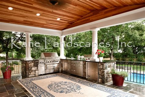 Outdoor Kitchen Pavilion Designs Outdoor Kitchen And Pavilion Contemporary Patio Dc Metro